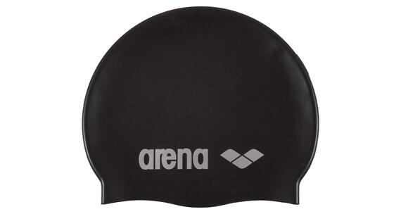 arena Classic Silicone Cap black-silver